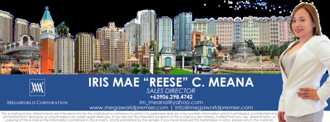 Reese Meana Megaworld