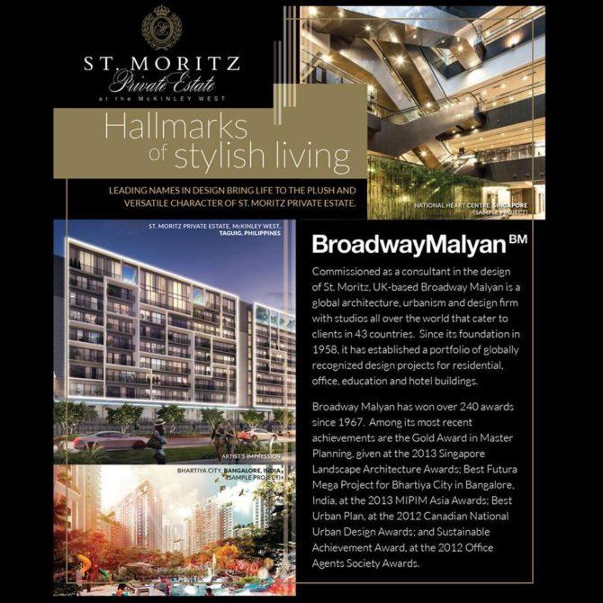 St. Moritz Broadway Malyan Article