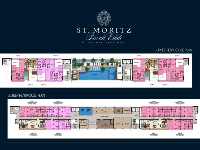St. Moritz Penthouse Plan