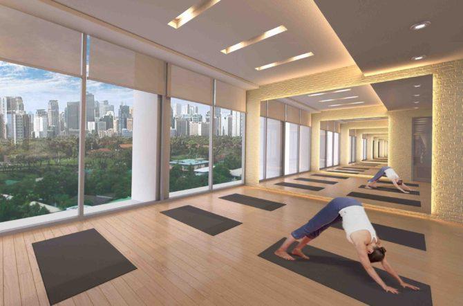 St. Moritz Yoga Room